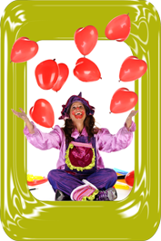 optreden clown funny overijssel