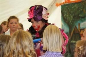 clown dorpsfeest